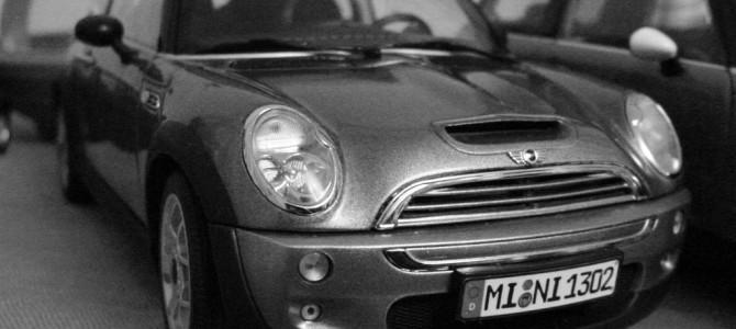 MINIのモデルカー