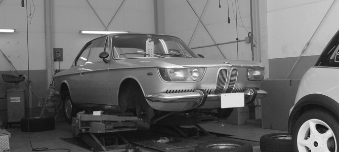 BMW 2000CSとZ4