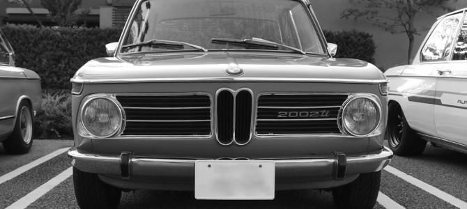 morning cruise BMW 2002 in daikanyama