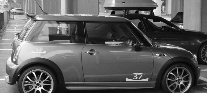 MINI 40周年記念 JCWキット装着車両