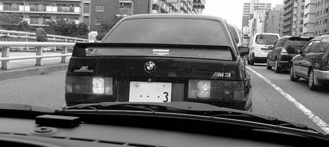 E30 M3 を見かけた