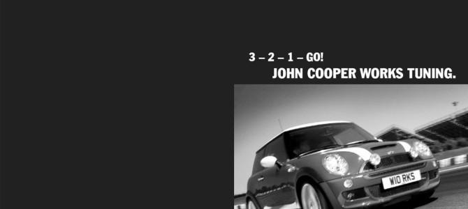 3-2-1-GO JOHN COOPER WORKS TUNING.