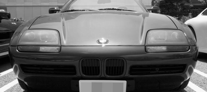 珍しい BMW Z1 がいました
